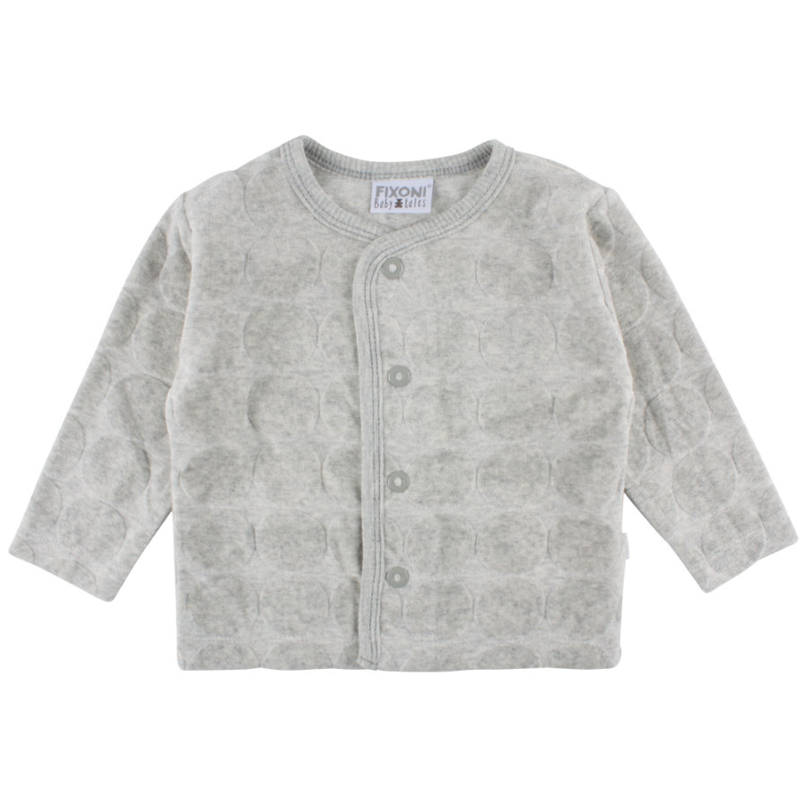 FIXONI Girls Sweatjacke light grey melange