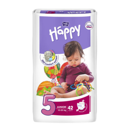 BELLA Happy Couches Junior T. 5 (12-25 kg), 42 pièces