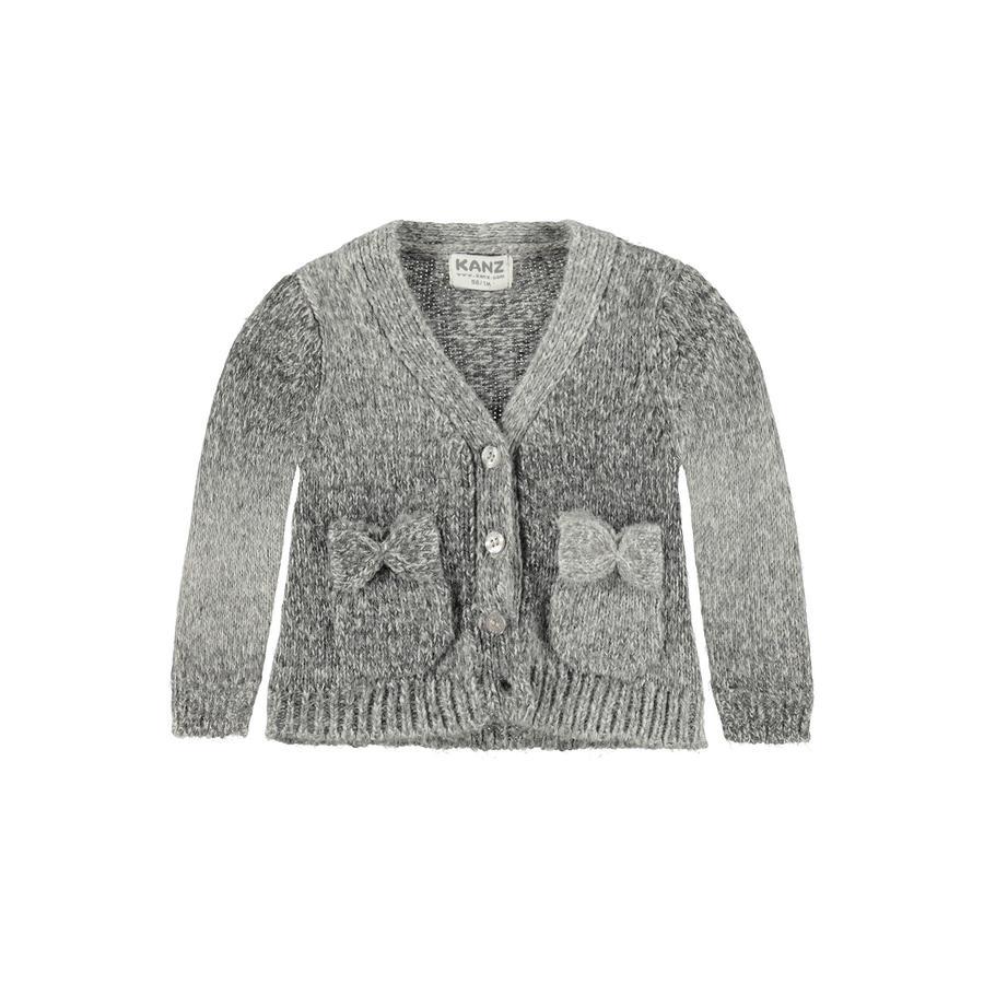 KANZ Girl s Cardigan baby cardigan grigio lupo grigio melange