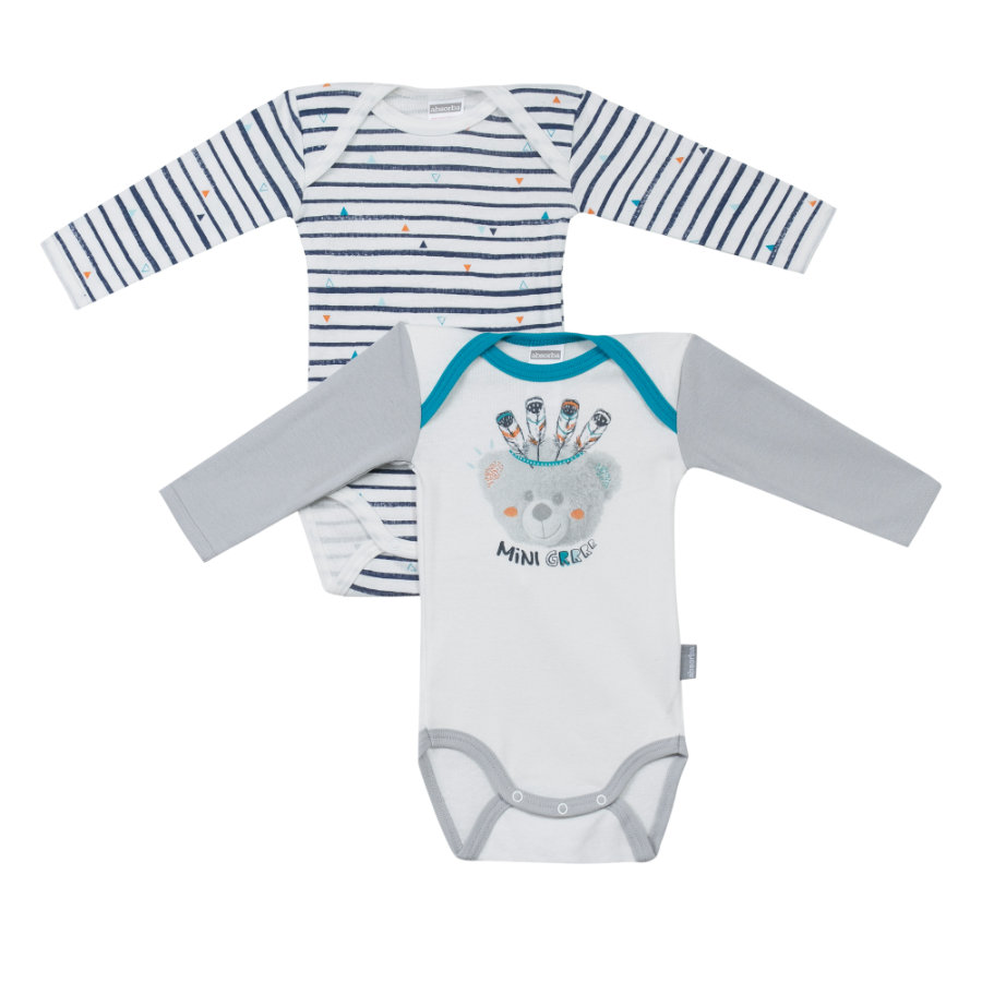 absorba Boys Bodies 2-er Pack grau