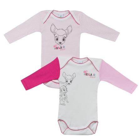 ABSORBA Girls Body dziecięce 2 szt. biały, różowy