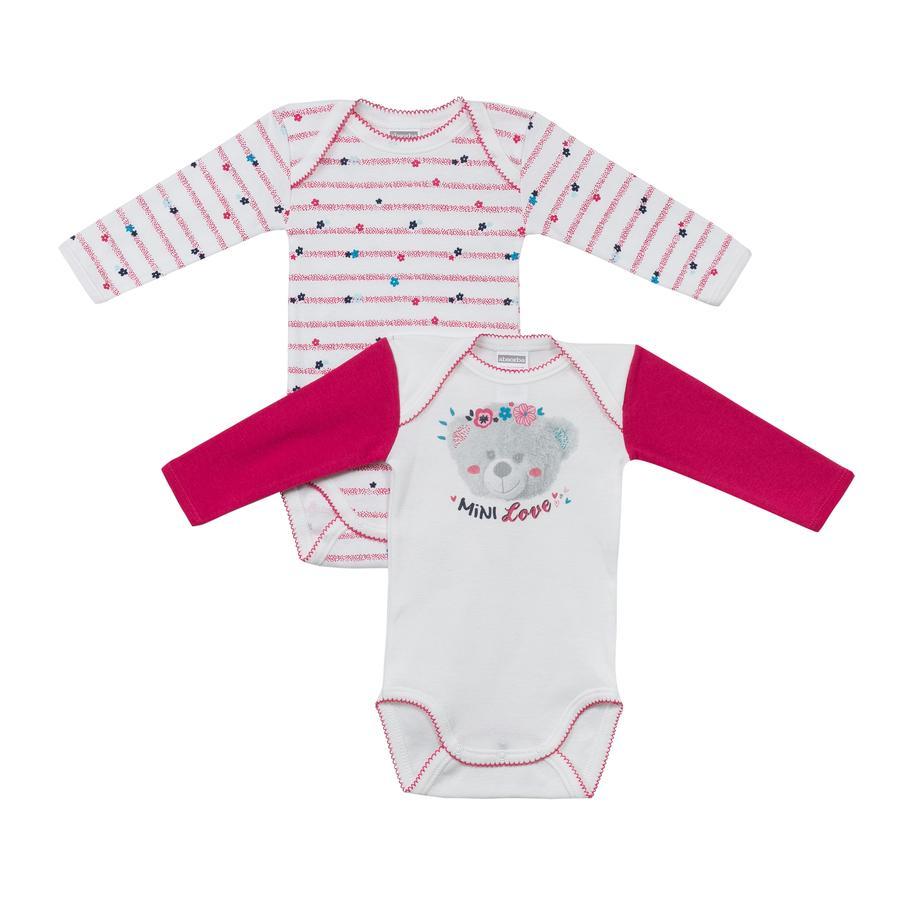 absorba Girls Bodies 2-er Pack pink/weiß