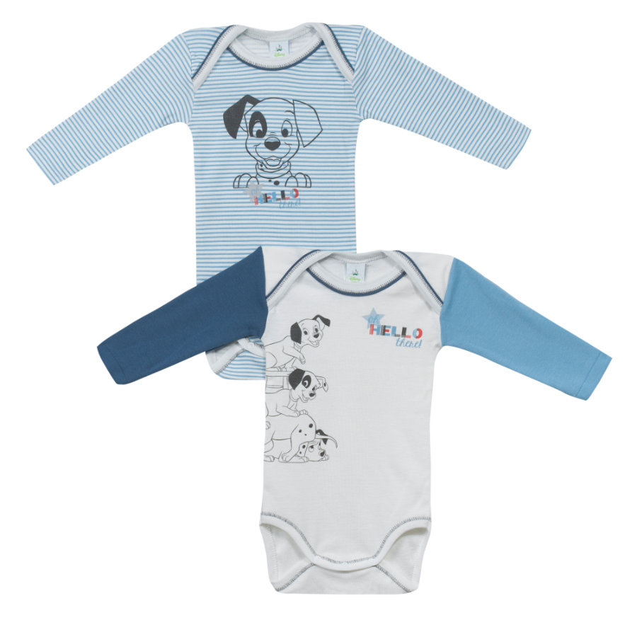 absorba Boys Bodies 2-er Pack blau