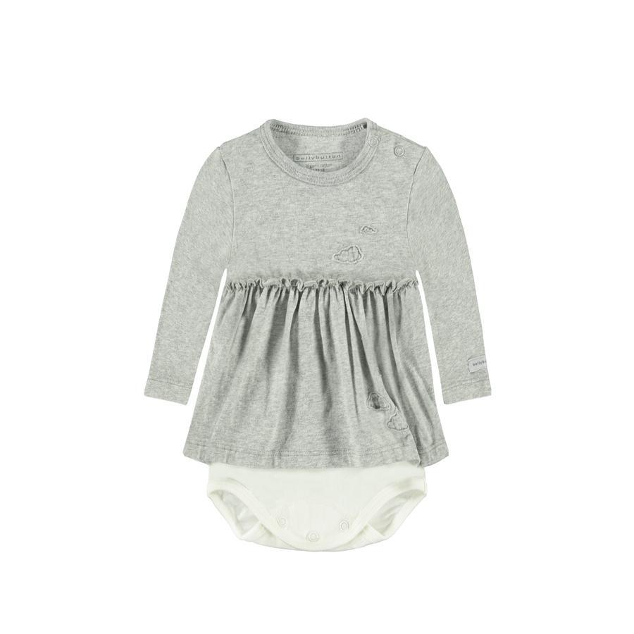 bellybutton Baby Girls Body 1/1 Arm silver melange