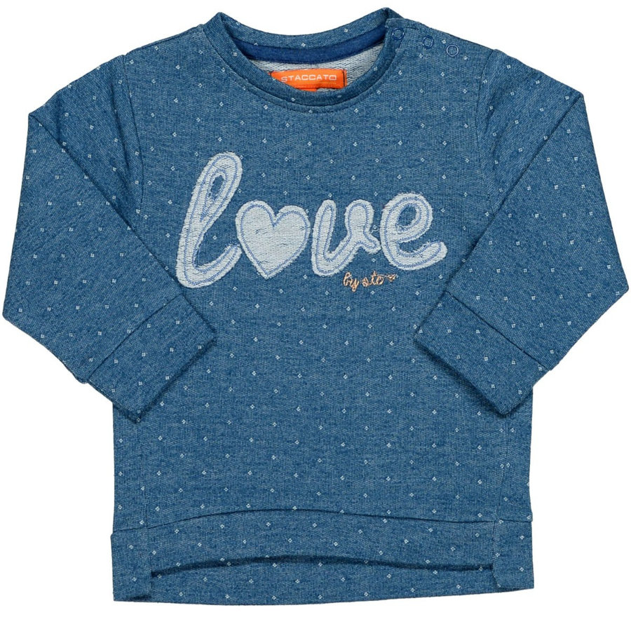 STACCATO Girls Sweatshirt jeans structure