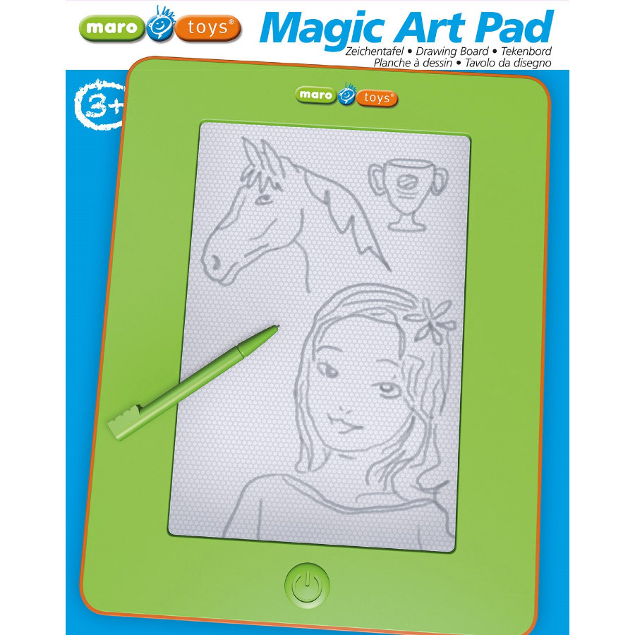 alldoro® Magic Art Pad grün-orange