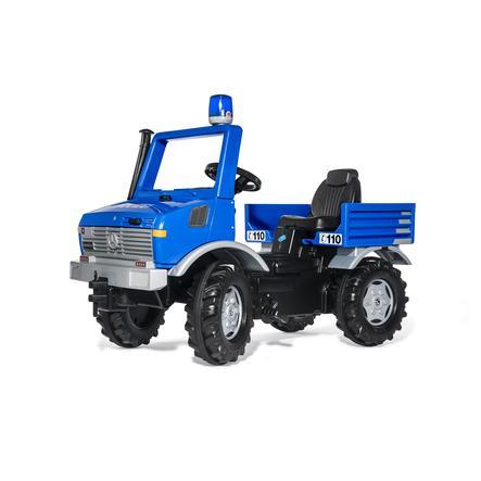 rolly®toys Camion de police enfant rollyUnimog gyrophare bleu 038183
