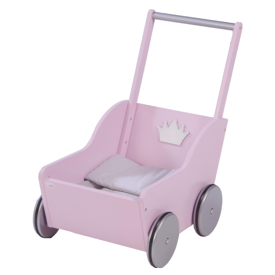 ROBA Poppen Poppenwagen Princess Sophie, roze