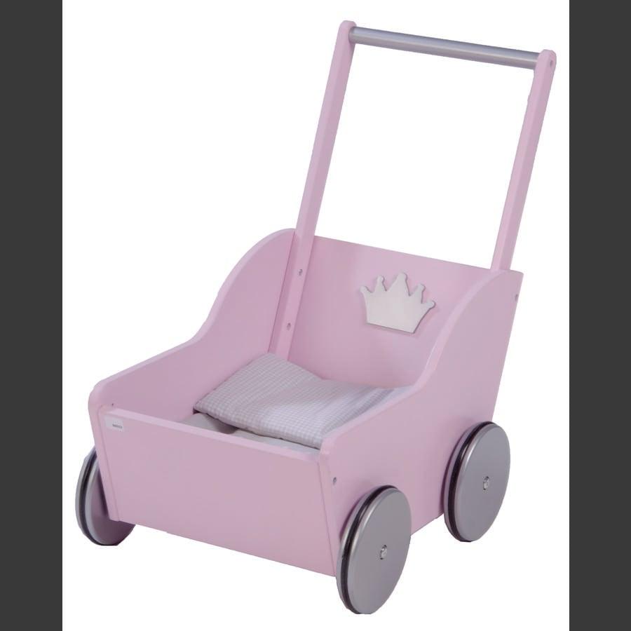 roba Puppenwagen Prinzessin Sophie, Rosé lackiert