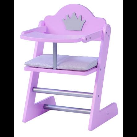 Roba Dukkehøjstol, Prinsesse Sophie, lyserød lak