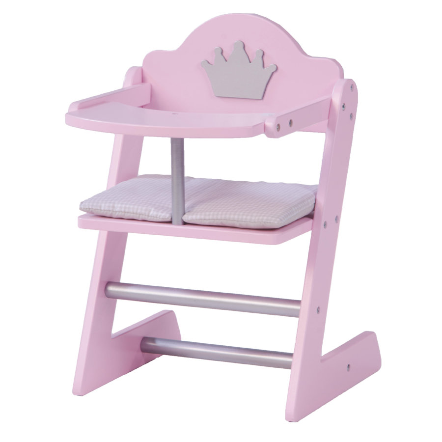 ROBA Poppen Kinderstoel Princess Sophie, roze