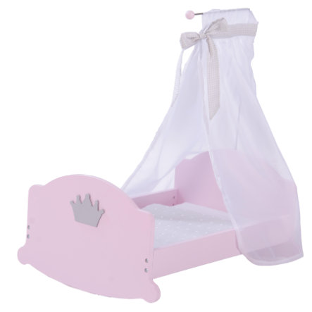 roba Culla a dondolo per bambole principessa Sophie rosè