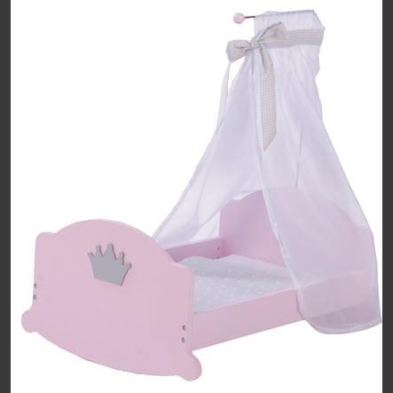 roba Krzesełko do karmienia Prinzessin Sophie, Rosé, lakierowane