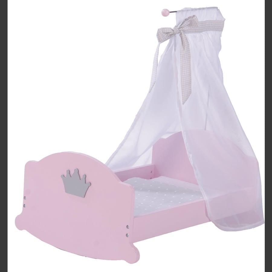 ROBA Nuken kehto Prinsessa Sophie, roosa