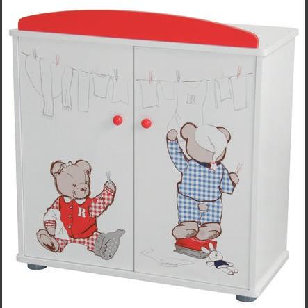 roba Šatní skříň pro panenky Teddy college