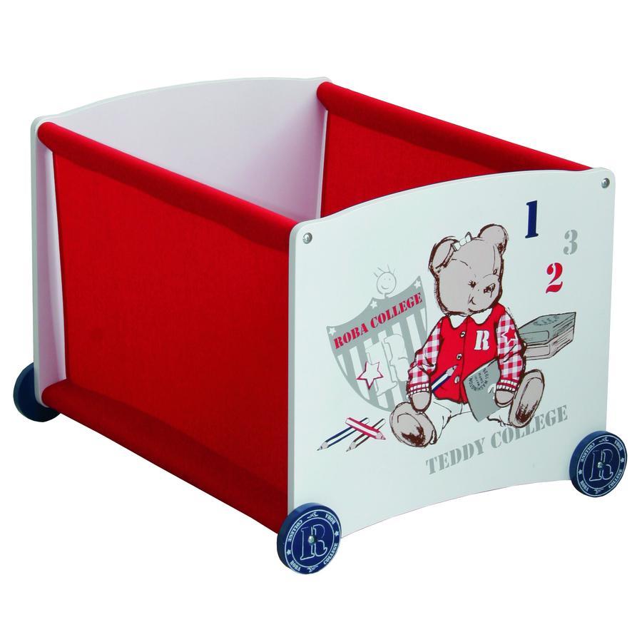 roba Vrstvící box červený Teddy college