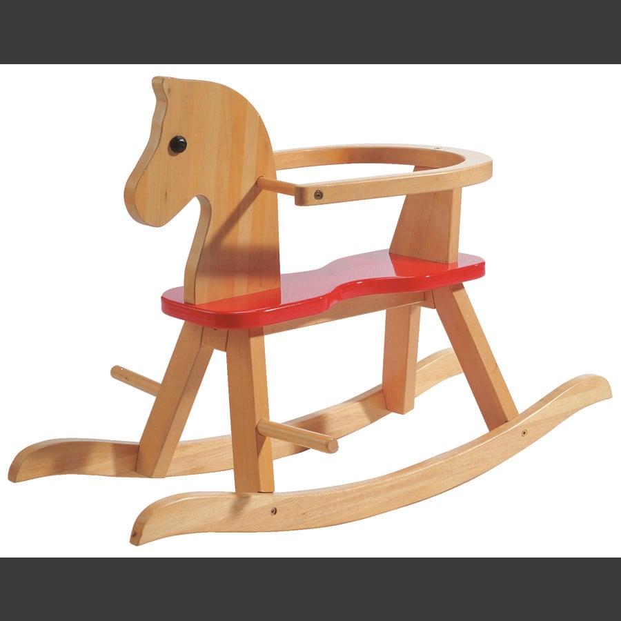 Cavallino A Dondolo In Legno.Roba Cavallo A Dondolo In Legno Laccato