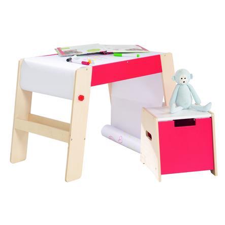 ROBA Combi table à dessin et tabouret