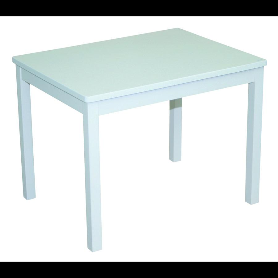 roba Dětský stolek - bíle nalakovaný