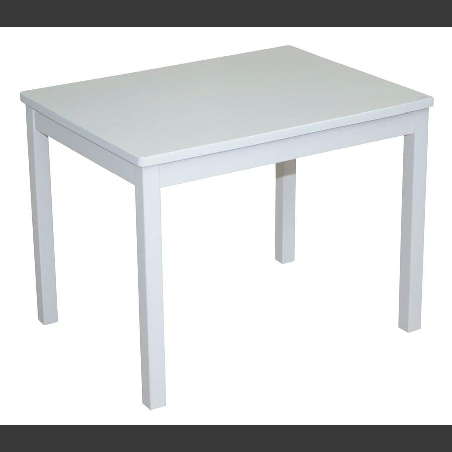roba Mesa para niños, lacada en blanco