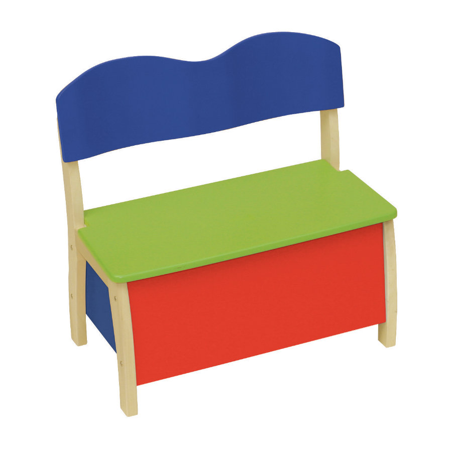 ROBA Coffre-banc, multicolore