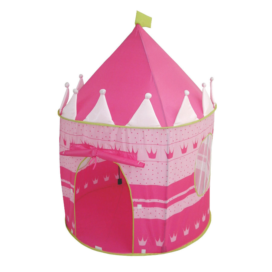 roba Namiot Zamek kolor różowy