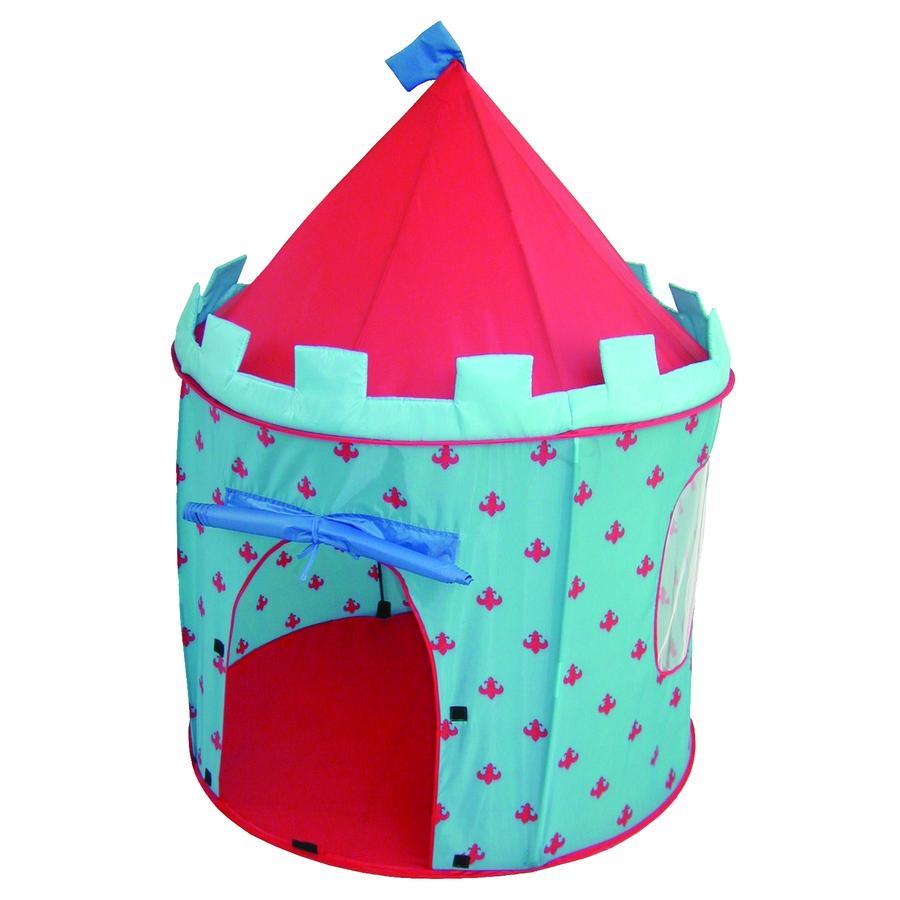 roba Hrací stan rytířský hrad, modrý