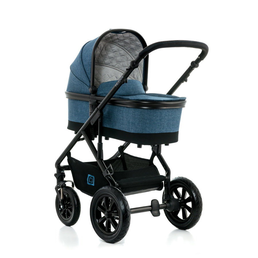 MOON Kombivagn Nouva Set City 990 blue melange