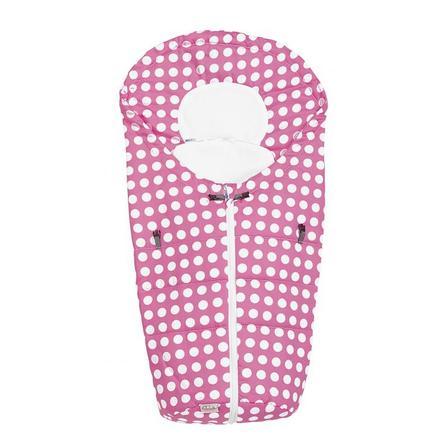 ODENWÄLDER Fußsäckchen Tupfen Dots Pink