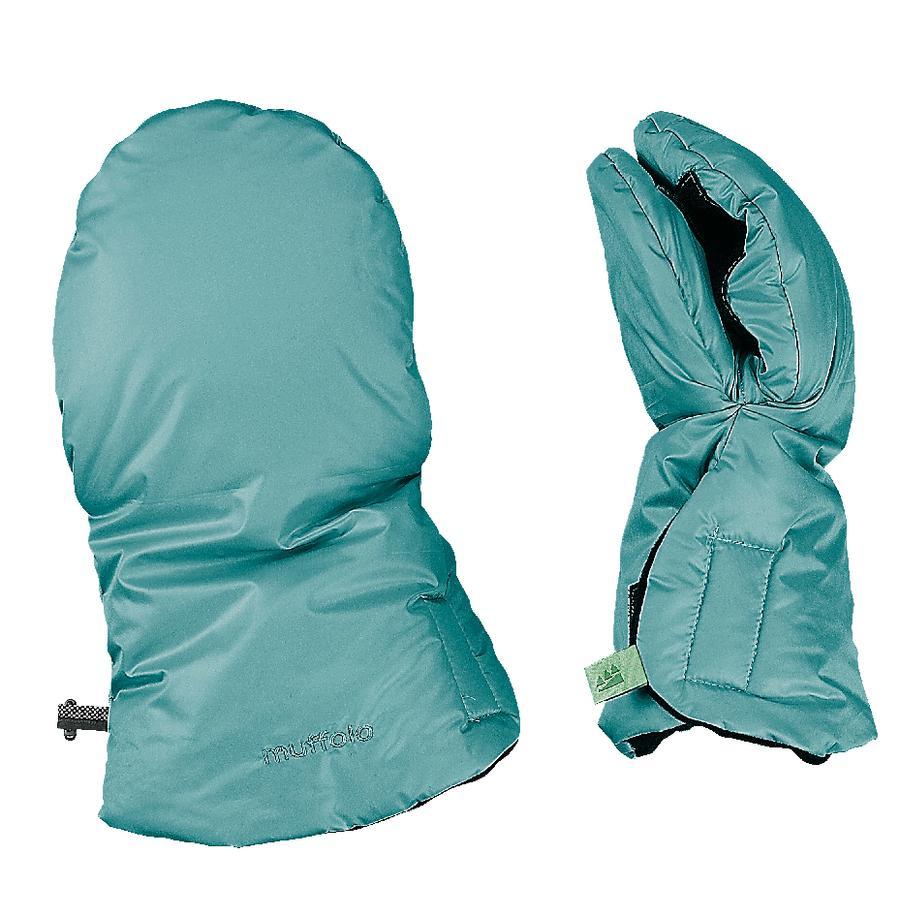 odenwälder Handwarmer Muffolo dark mint
