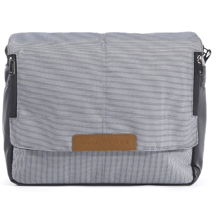 Mutsy IGO Nappy Bag Lite White & Blue URBAN NOMAD Edition