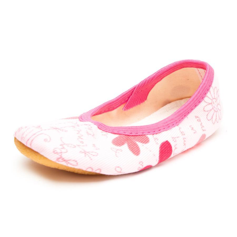 Beck Girl s gym shoe shoe motylkowy różowy
