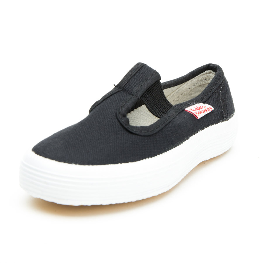 Beck Chaussures en lin Basic noir