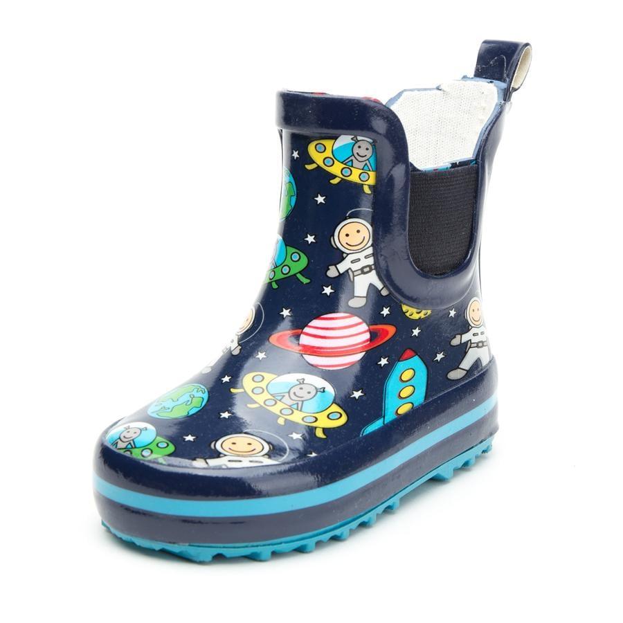 Beck Bottes de pluie enfant caoutchouc espace bleu foncé