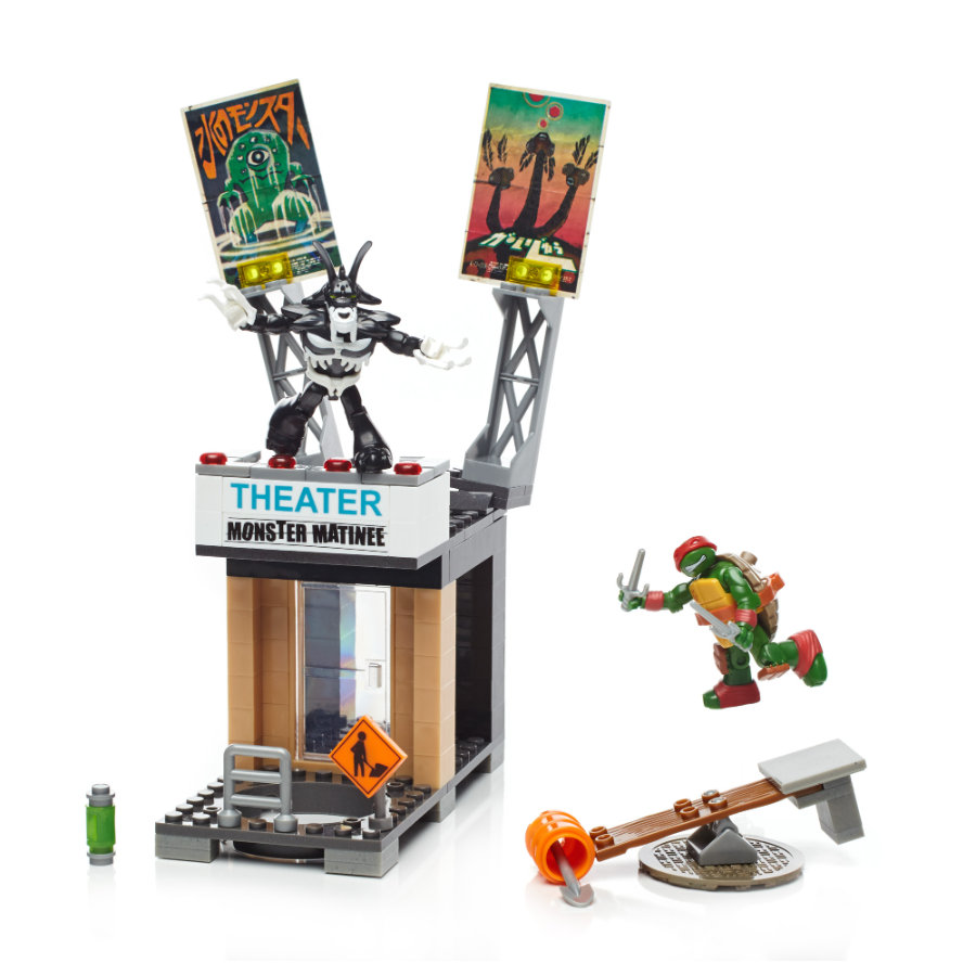 Mega Bloks: Teenage Mutant Ninja Turtles Coole Angriffsaction