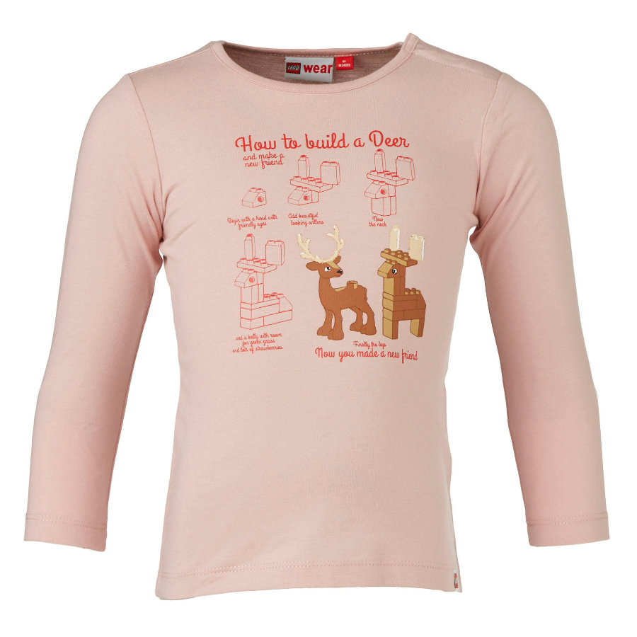 LEGO wear  Girl TIFF rosa manica lunga s TIFF rose