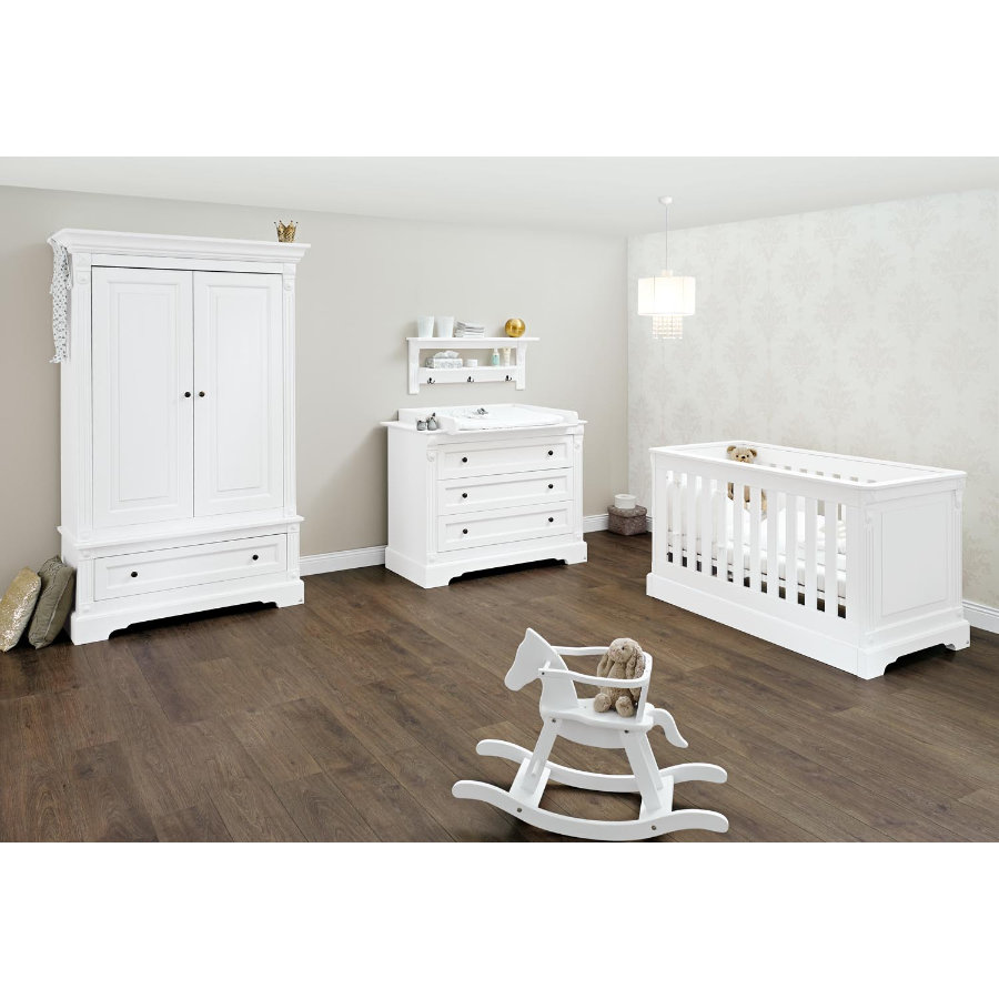 pinolino kinderzimmer emilia breit 2 t rig. Black Bedroom Furniture Sets. Home Design Ideas