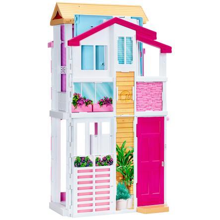 BARBIE Malibu Huis Met 3 Verdiepingen - Barbiehuis