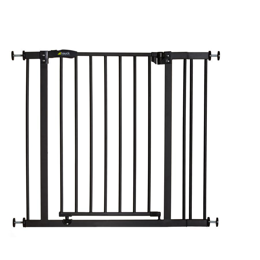 hauck Barrière de sécurité enfant Close'n Stop + extension 9 cm charcoal
