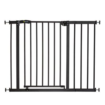 hauck Puerta de seguridad Close'n Stop + 21 cm de extensión Carbón