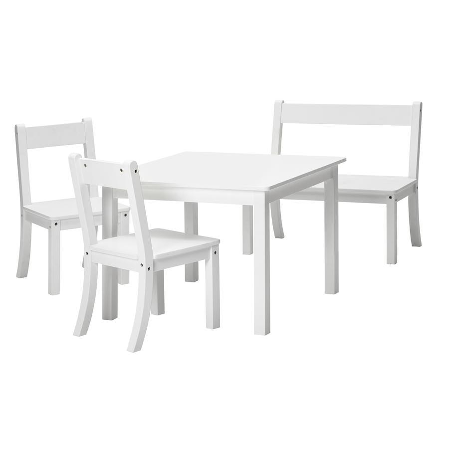 Schardt Sitzgruppe Bueno weiß 4-teilig