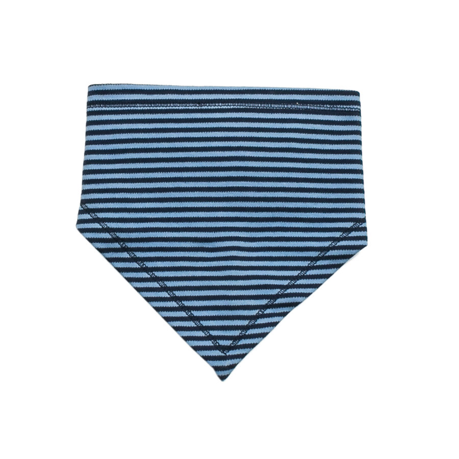 SALT AND PEPPER Baby Glück Boys Chustka na szyję little star stripe baby blue