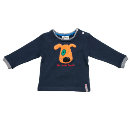 SALT AND PEPPER Boys Sweatshirt Hund navy