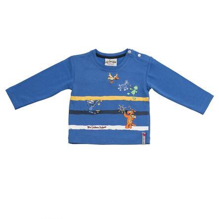 SALT AND PEPPER Boys Estampado manga larga azul