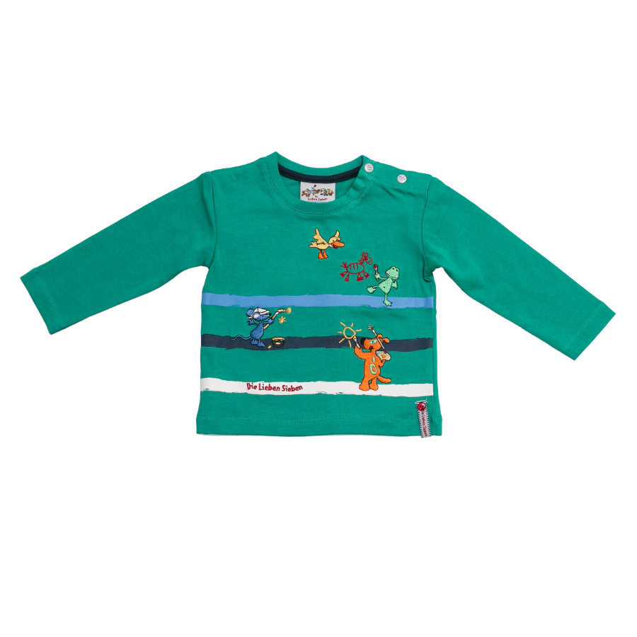 SALT AND PEPPER Boys Longsleeve print golf green