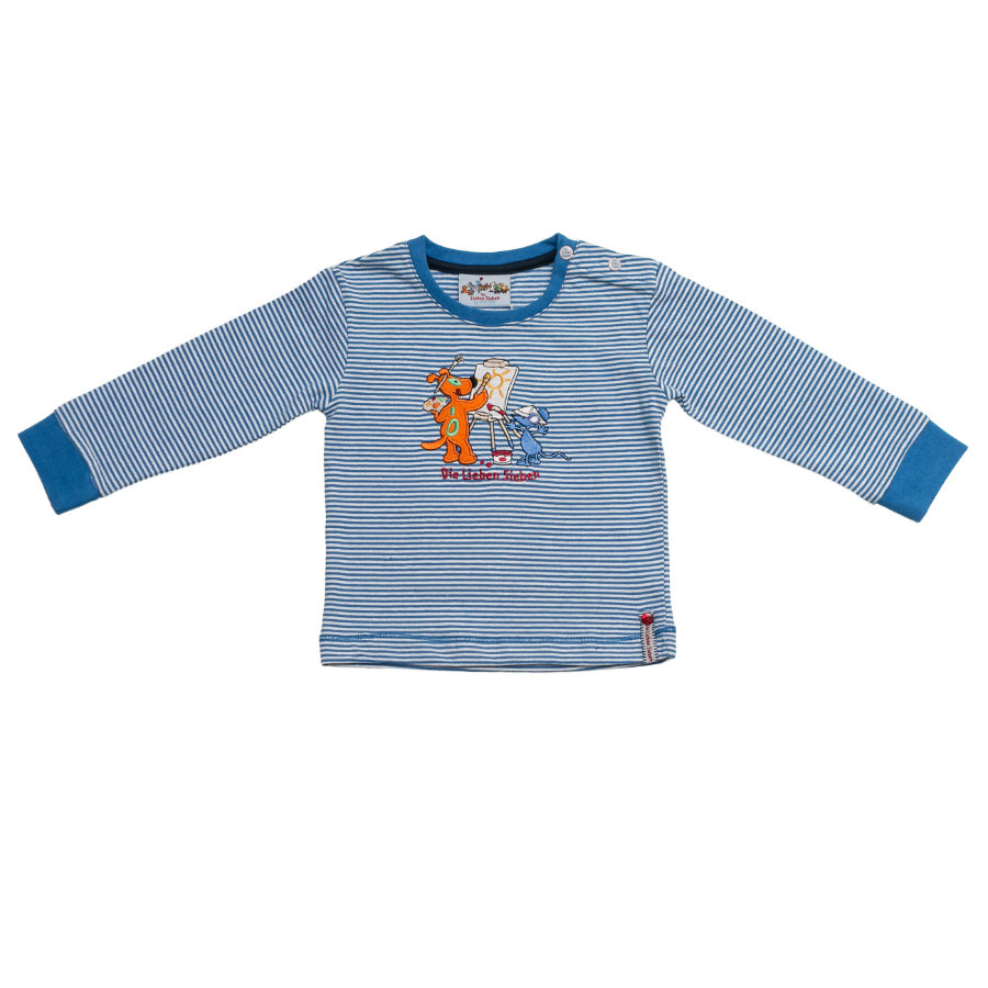 SALT AND PEPPER Boys Longsleeve stripe blue