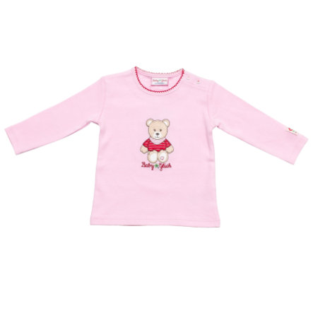 SALT AND PEPPER Baby Glück Girls Longsleeve Bärchen rosé