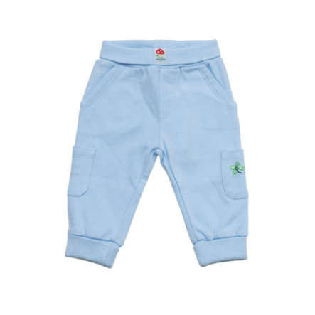 SALT AND PEPPER Pantalon Boys de survêtement Baby Happiness bleu clair