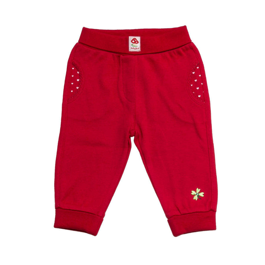 SALT AND PEPPER Baby Glück Girls Hose tomato red