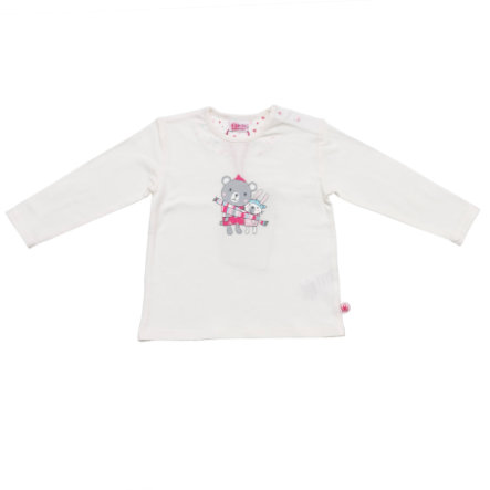SALT AND PEPPER Baby Glück Girls Longsleeve uni weiß